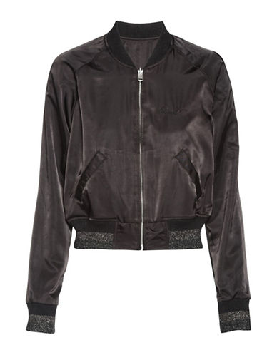 Diesel Absol Bomber Jacket-BLACK-Medium