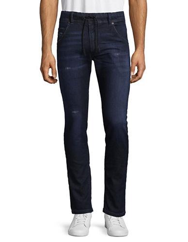 Diesel Krooley R-NE Sweat Jeans-BLUE-38