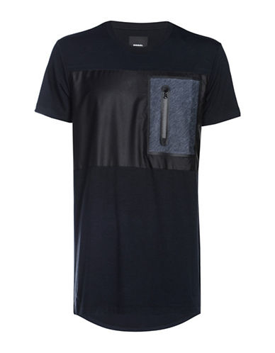 Diesel Gearkles High-Performance T-Shirt-BLACK-Large 89516680_BLACK_Large