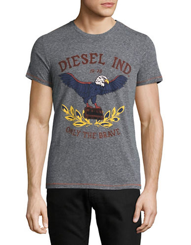 Diesel T-Diego-Rp Graphic Tee-BLACK-Small