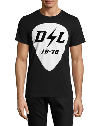 Diesel T-Diego-Rb Graphic Tee-BLACK-Large