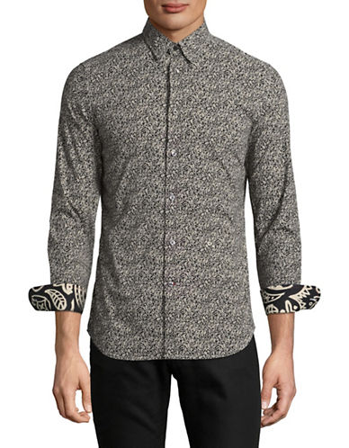 Diesel S-Crows Sport Shirt-BLACK-XXLarge