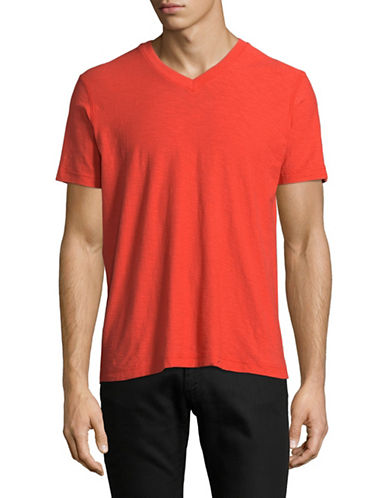 Diesel Trene Cotton Tee-RED-Medium
