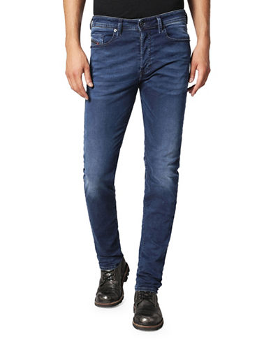 Diesel Buster Tapered-Fit Dark Jeans-BLUE-28X32