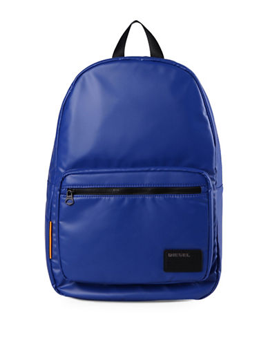 Diesel Discover Coated Backpack-BLUE-One Size