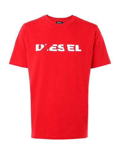 Diesel T-Just-SL T-Shirt-RED-Large