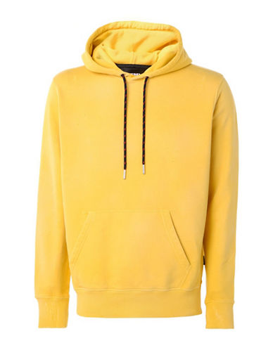 Diesel S-Palms-T Hoodie-YELLOW-Small