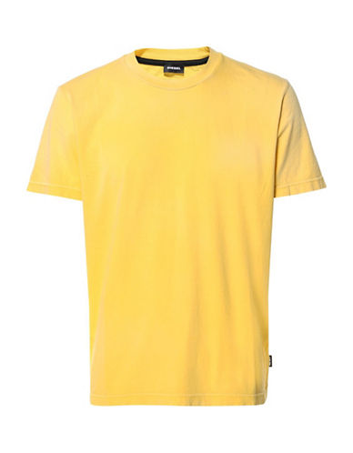 Diesel T-Joey-T T-Shirt-YELLOW-XLarge
