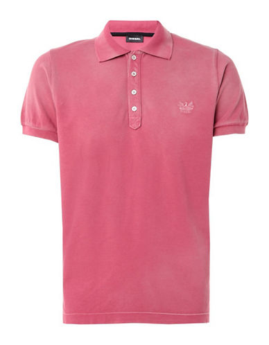 Diesel T-Night Shirt-PINK-Small