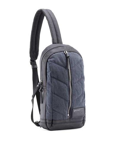 Diesel V Denim Sling Backpack-BLUE/BLACK-One Size