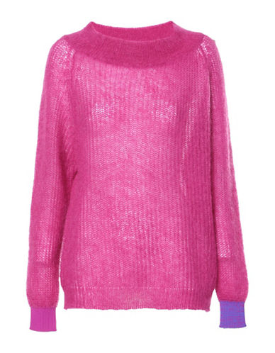 Diesel M-Should Sweater-PINK-XX-Small