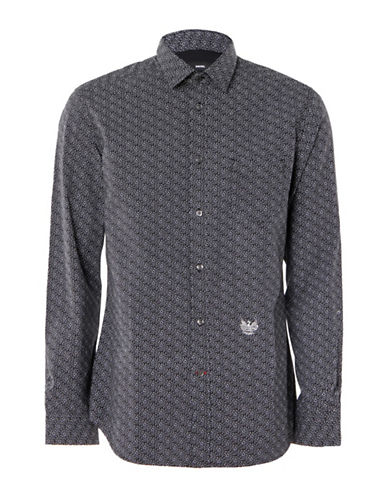 Diesel S-Dunes Shirt-BLACK-Large