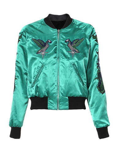 Diesel G-Absol Bomber Jacket-GREEN-X-Small