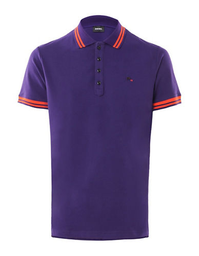 Diesel T-Randy Shirt-PURPLE-Medium