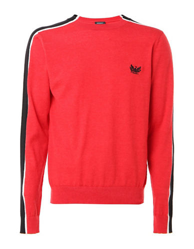 Diesel K-Tape Pullover-RED-Large