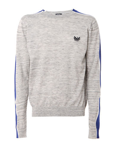 Diesel K-Tape Pullover-GREY-Small