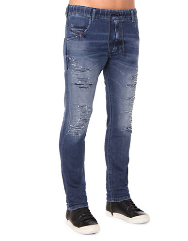 Diesel Krooley R-NE 084PE JoggJeans-BLUE-38