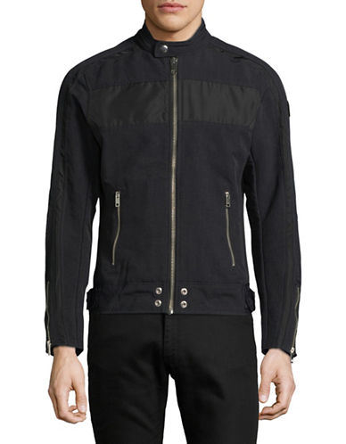 Diesel J-Street Zip Jacket-BLACK-XXLarge