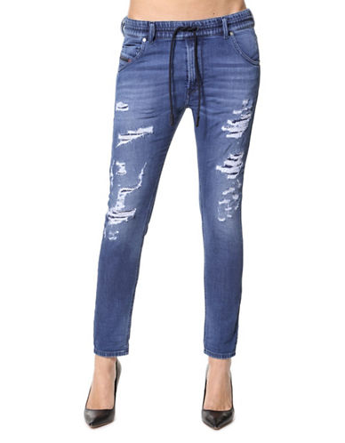 Diesel Krailey Relaxed Boyfriend Jeans-BLUE-29