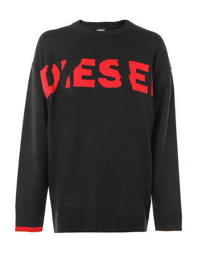 Diesel K-Logox Pullover-BLACK-Medium