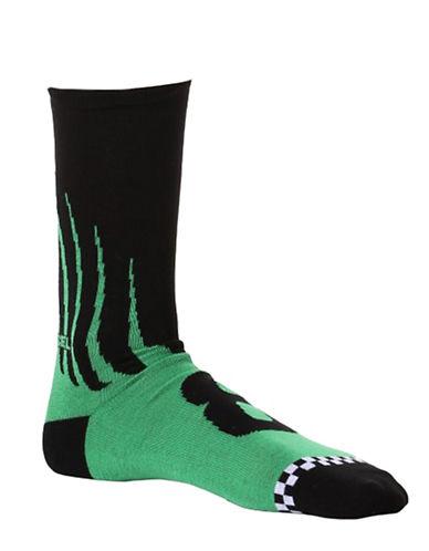 Diesel Ray Novelty Socks-GREEN-Large