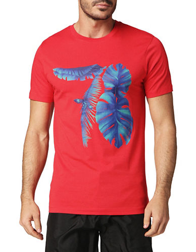 Diesel Parsen Cotton Tee-RED-Medium