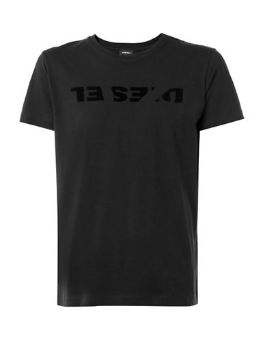 Diesel T-Diego-TE T-Shirt-BLACK-Small