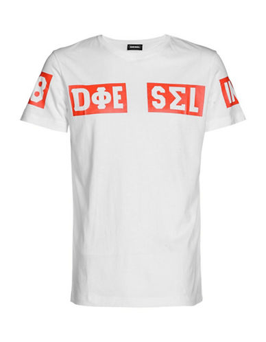 Diesel T-Diego-SO T-Shirt-WHITE-Small 89864932_WHITE_Small