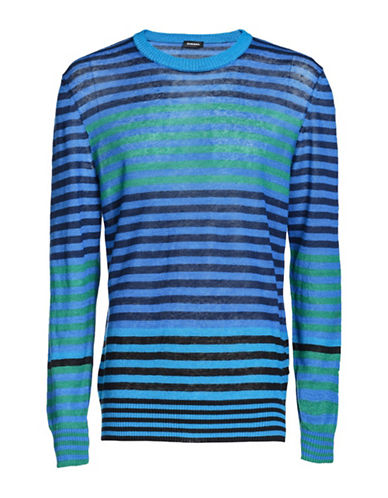 Diesel K-Ruly Pullover-BLUE-Small
