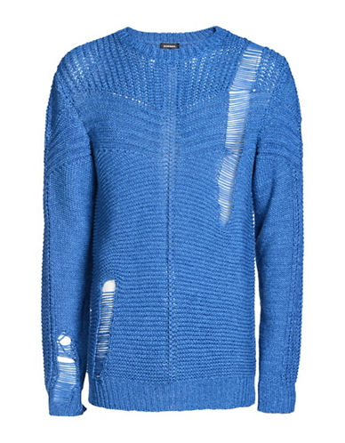Diesel K-Cage Pullover-BLUE-Medium