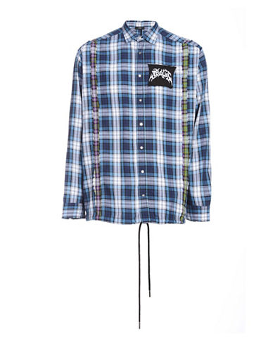 Diesel S-Easto Shirt-BLUE-XLarge