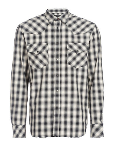 Diesel S-East-CH Shirt-BLACK-Large