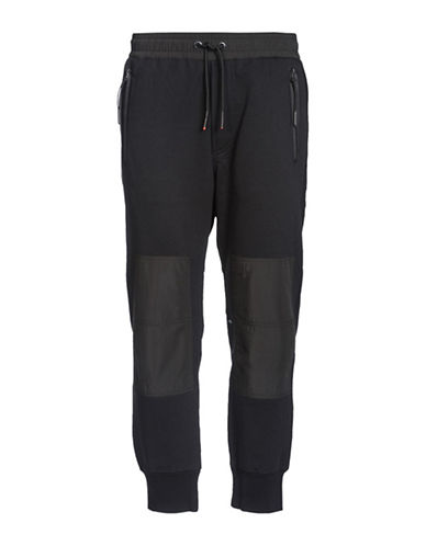 Diesel P-Grand Trousers-BLACK-Small
