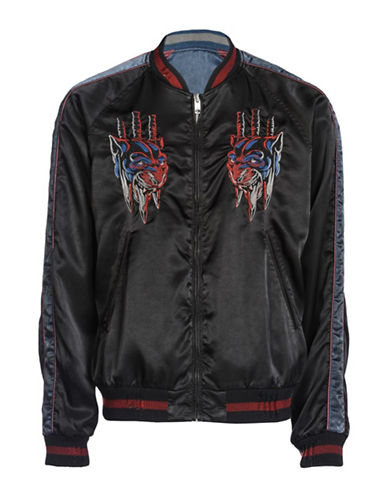 Diesel J-Isaac Reversible Jacket-BLACK-Medium
