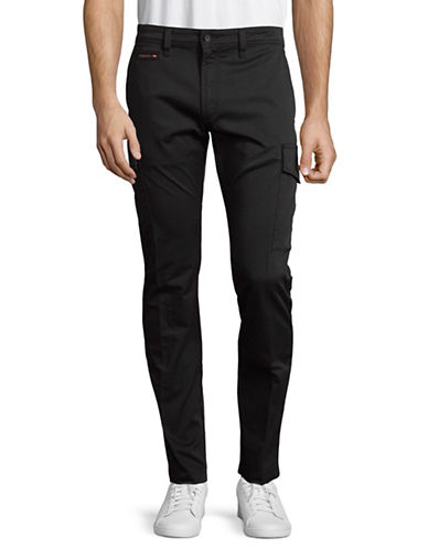 Diesel Chi-Tommer-Cargo Trousers-BLACK-29