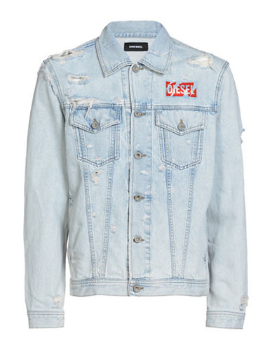 Diesel Nhill Jacket-BLUE-XXLarge