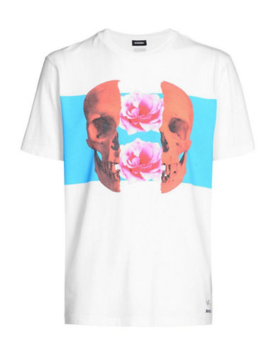 Diesel T-Just-SW T-Shirt-WHITE-Small 89864896_WHITE_Small