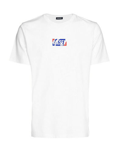 Diesel T-Just-ZC T-Shirt-WHITE-Medium 89865406_WHITE_Medium