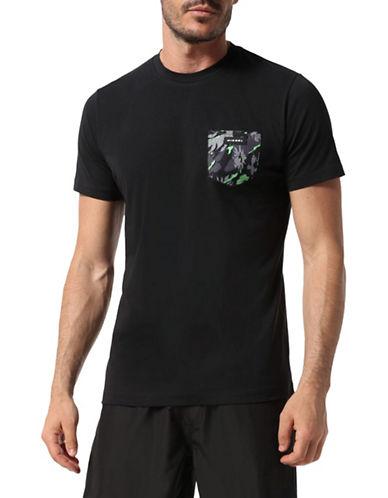 Diesel Parsen-S T-Shirt-BLACK-Large 89891282_BLACK_Large