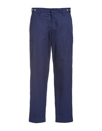 Diesel P-Tucs-Tape Trousers-BLUE-34
