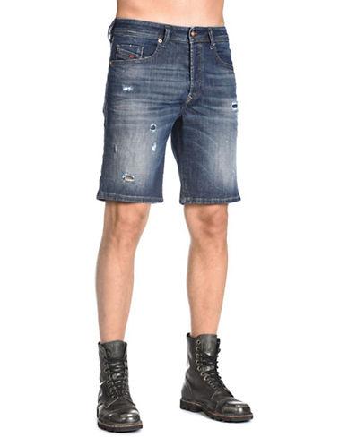 Diesel Bustshort Shorts-BLUE-32