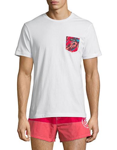 Diesel Parsen-S T-Shirt-WHITE-Large 89891287_WHITE_Large