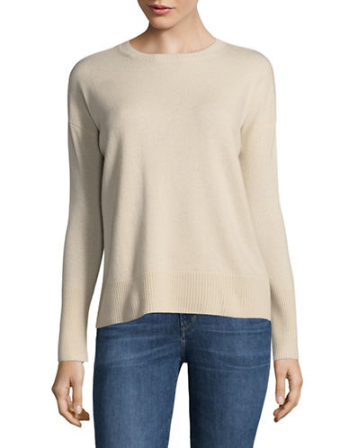 Marella Favella Wool and Cashmere Sweater-HONEY-Small