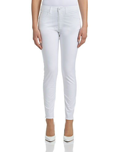 Armani Jeans Slim Fit Jeans-WHITE-30
