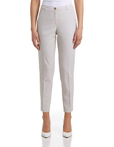Armani Jeans Fantasia Jacquard Trousers-BEIGE-27