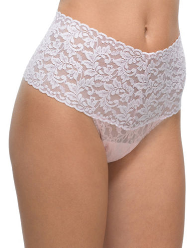 Hanky Panky Retro Lace Thong-BLISS-One Size