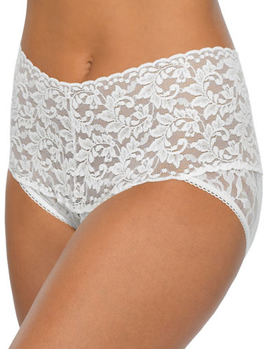 Hanky Panky Retro V-Kini-MARSHMELLOW-Medium