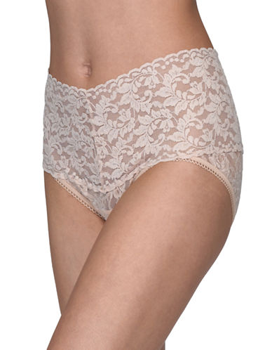 Hanky Panky Retro V-Kini-CHAI-Medium