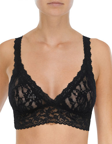 Hanky Panky Signature Lace Bralette-BLACK-X-Small