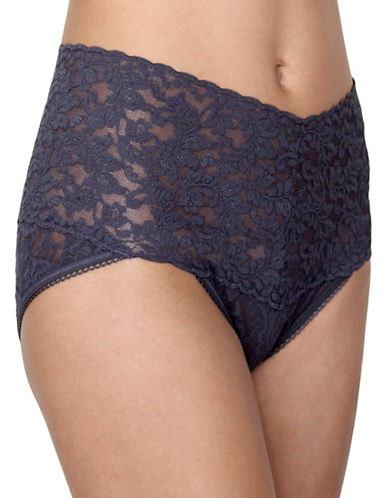 Hanky Panky Retro V-Kini-GRANITE-Medium